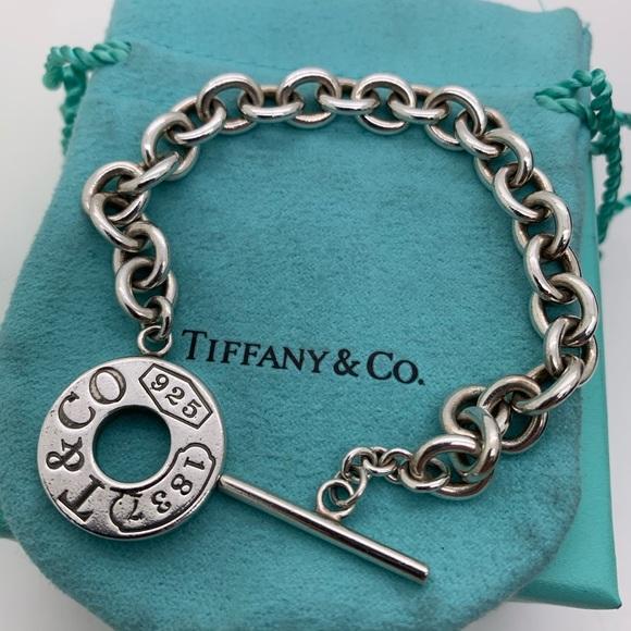 "Tiffany & Co. Jewelry - Tiffany & Co.925 ""T & CO 925 1837"" Bracelet 7.5"